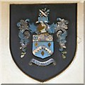 SJ9594 : Hyde coat of arms by Gerald England