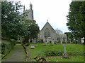 SW8765 : Church of St Mawgan-in-Pydar, St Mawgan by Ruth Sharville