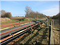 TL3672 : Sand and gravel conveyor belt by Hugh Venables