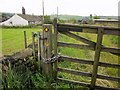 SE0729 : Gate on Calderdale Way by Derek Harper