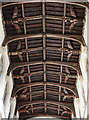 TF0207 : Carved ceiling Angels, St John's church, Stamford by Julian P Guffogg