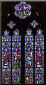 TF0307 : East window, St Mary's church, Stamford by Julian P Guffogg