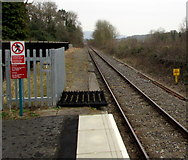 SN6212 : Heart of Wales line south of Ammanford station by Jaggery