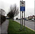 ST3090 : Unsuitable route for HGVs ahead, Malpas Road, Newport by Jaggery