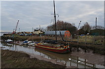 TA0623 : The Phyllis at Barrow Haven by Ian S