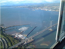 NT1278 : Port Edgar Marina from the air by steve mclaughlin