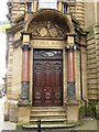NZ2463 : Bolbec Hall, Westgate Road, NE1 - main entrance by Mike Quinn