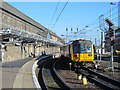 NZ2463 : Newcastle Central Station, Platform 8 by Mike Quinn