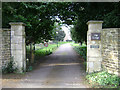 SK8608 : Gateway for The Lodge, Stamford Road, Oakham by Robin Stott