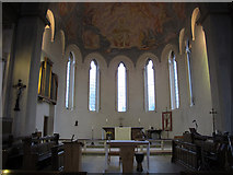 TQ4275 : St Barnabas church, Eltham: chancel and apse by Stephen Craven
