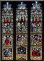 SE6051 : Acts of Mercy window, All Saints' church, North St, York by Julian P Guffogg