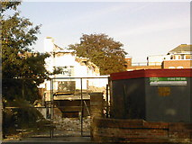 SZ1191 : Bournemouth: demolition of Fircroft Hotel on St John's Road, Boscombe by Jonathan Hutchins