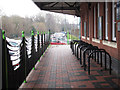 SO9183 : Cycle racks at Stourbridge Junction  by Stephen Craven