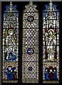 SE6051 : Stained glass window, All Saints' church, North Street, York by Julian P Guffogg