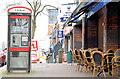 J3373 : Telephone boxes, Botanic Avenue, Belfast (February 2015) by Albert Bridge