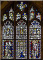 SE6051 : Stained glass window, s.IV, St Martin's le Grand church, York by Julian P Guffogg