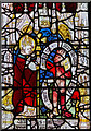 SE6051 : Detail, (3d) St Martin window, St Martin le Grand church, York by J.Hannan-Briggs