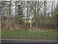 TA1242 : Footpath off Dancing Lane, Long Riston by JThomas