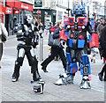 SE3033 : Robotic Street Entertainment - Briggate by Betty Longbottom