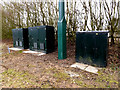 TL6003 : Telecommunications Equipment on the A414 Chelmsford Road by Adrian Cable