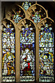 SE6051 : Stained glass window, All Saints' church, Pavement, York by Julian P Guffogg