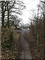 TL6004 : Fingrish Hall Lane bridleway by Adrian Cable