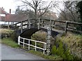 TL6025 : Bridge and ford over the Chelmer by Bikeboy