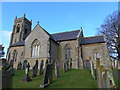 NY3250 : St Andrew, Thursby: mid-February 2015 by Basher Eyre