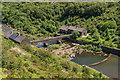 SN9264 : Below Caban Coch Dam by Ian Capper