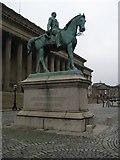SJ3490 : Equestrian statue of Prince Albert by Philip Halling