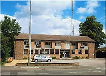 TF0920 : Police station at Bourne, Lincolnshire by Rex Needle