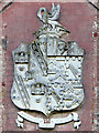 TG1602 : The Boileau family coat of arms at Ketteringham Hall by Evelyn Simak