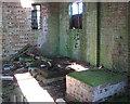 TG1602 : WW2 pump house (interior) by Evelyn Simak