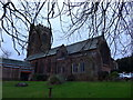 SD2273 : St Mary, Dalton in Furness: mid-February 2015 by Basher Eyre