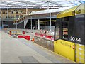 SJ8499 : Manchester Victoria, Temporary Metrolink Terminus February 2015 by David Dixon