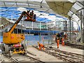 SJ8498 : Building Work at Victoria Station (February 2015) by David Dixon