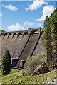SN8663 : Claerwen Dam by Ian Capper