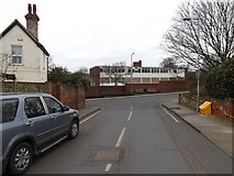 TM1745 : Belle Vue Road, Ipswich by Adrian Cable