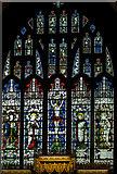 SE5951 : East window, Holy Trinity, Micklegate, York by Julian P Guffogg