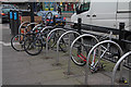 TQ2994 : Abandoned bikes by John Salmon