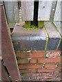 SP1689 : OS rivet & benchmark - Kingshurst, Tamar Drive by Richard Law