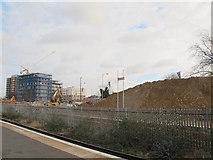 TQ3265 : Demolition by Croydon station (1) by Stephen Craven