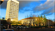 SP3378 : Crown Court and Civic Centre 4, Coventry by John Brightley