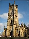 SJ3589 : St Luke's church by Philip Halling