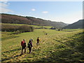 SE9493 : Footpath  through  fields  in  High  Dale by Martin Dawes