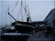 ST5772 : Brunel's SS Great Britain in dry dock by Peter Holmes