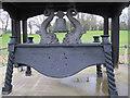 TQ3470 : RNVR Trophy War Memorial, detail by Stephen Craven