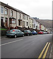 SS8696 : End of the double yellow lines, Brytwn Road, Cymmer by Jaggery
