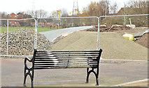 J3673 : New path, Dixon Park, Belfast - February 2015(2) by Albert Bridge