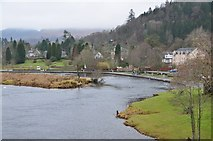 NN6207 : River Teith at Callander Meadows by Jim Barton